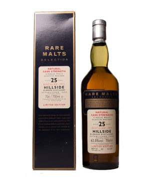 Hillside 1971 25Y Rare Malts Original