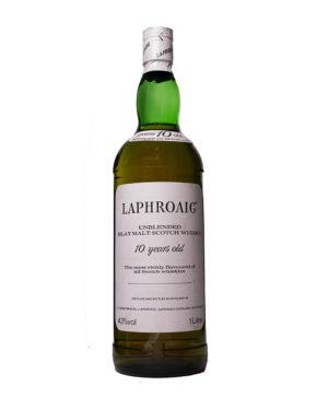 Laphroaig 10Y unblended Original