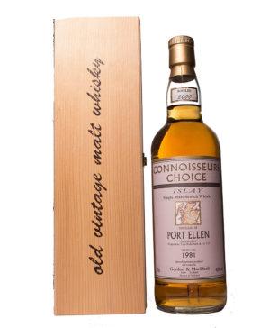 Port Ellen 1981 19Y Connoisseurs Choice Gordon Macphail