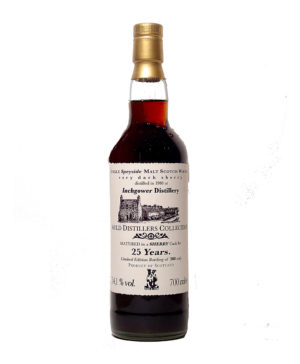 Inchgower 1980 25Y Auld Distillers Jack Wiebers Whisky World