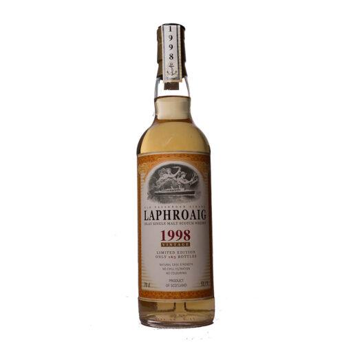 Laphroaig 1998 14Y Whiskyschiff Zürich 2012 Monnier