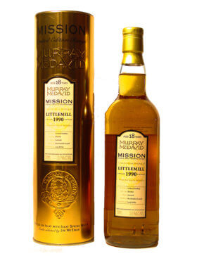 Littlemill 1990/18Y Mission Gold Murray McDavod