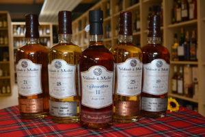 5 neue Valinch&Mallet Whisky Abfüllungen