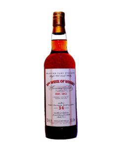 Port Dundas 1978 34Y Anniversary Bottling 10th Week of Whisky Monnier