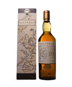 Talisker 10Y Map Label Original