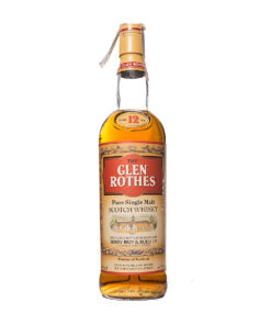 Glenrothes 12Y old Label Berry Brothers & Rudd Original