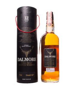 Dalmore 12Y old tall bottle Original