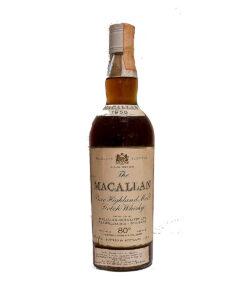 Macallan 1958 Sherry 80% Proof 26 2/3oz Original