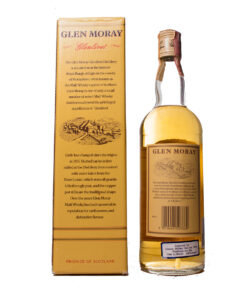 Glen Moray 5Y old Label tall bottle OriginalGlen Moray 5Y old Label tall bottle Original