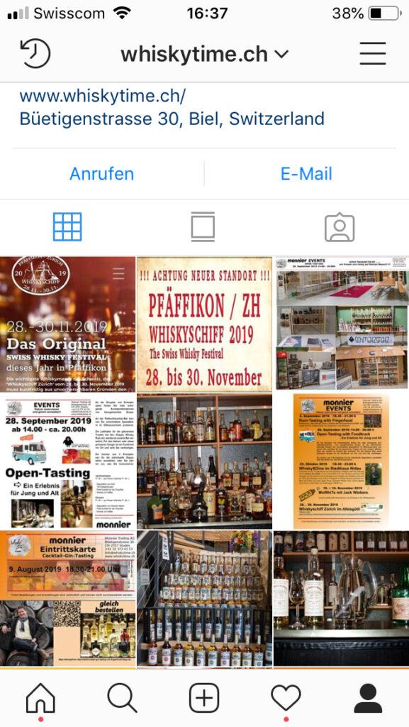 Instagram whiskytime