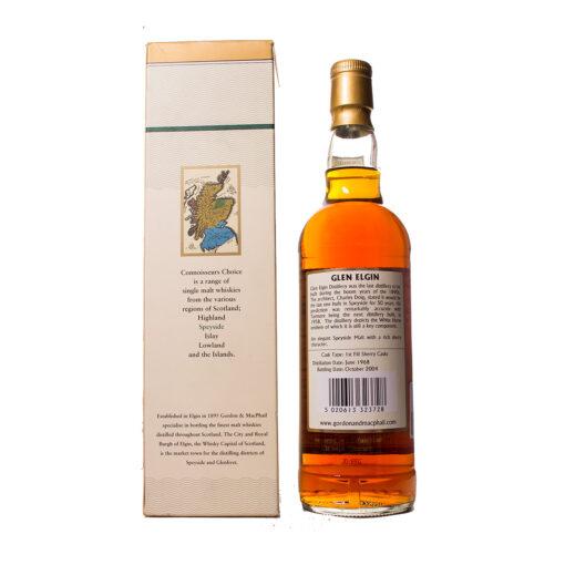 Glen Elgin 1968 Bottling 2004 Connoisseurs Choice Gordon&Macphail