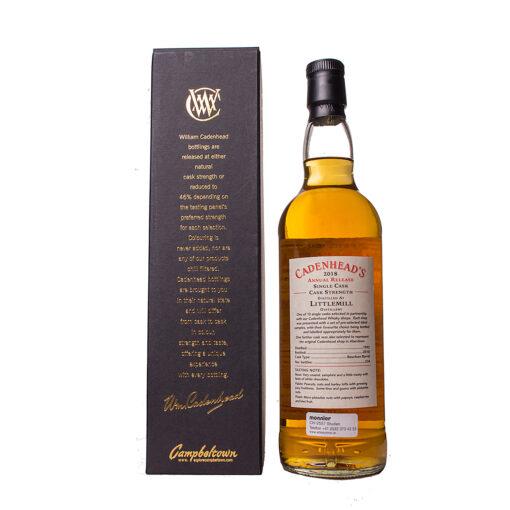 Littlemill 1992 26Y Whisky Shop Aberdeen Cadenheads