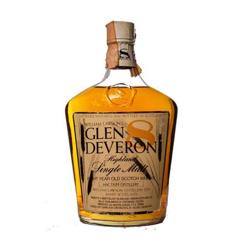 Glen Deveron 8Y Trapezoide Flasche Original
