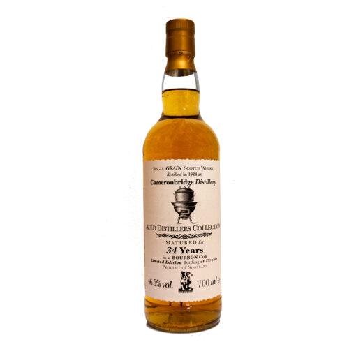 Cameronbridge 1984 34Y ADC Jack Wiebers Whisky World