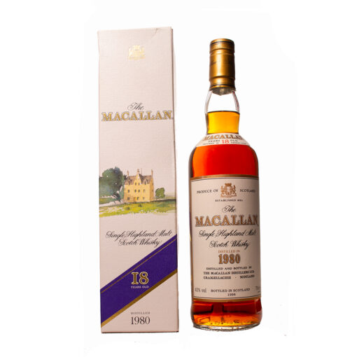 Macallan 1980 18Y Original