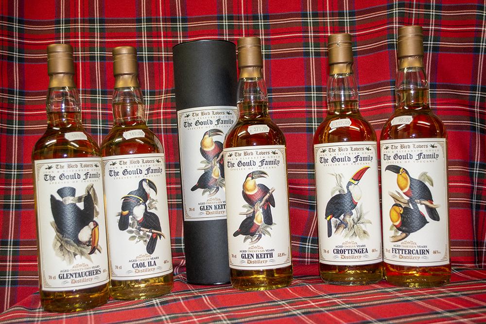 Neue Goulds Serie von Jack Wiebers Whisky World