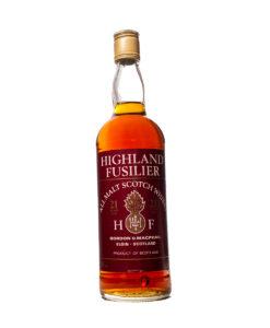 Highland Fusilier 21Y All Malt Original