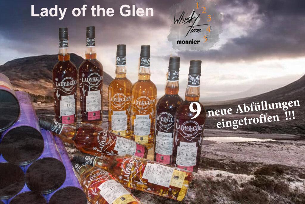 Lady of the Glen - 9 new bottlings