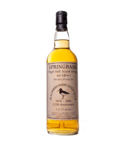 Springbank 10Y 125th anniversary Machrihanish Golf Club 1876-2001 Original