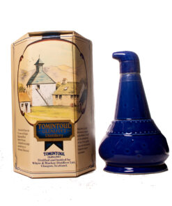 Tomintoul 12Y old Potstill Decanter blau