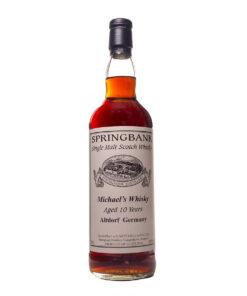 Springbank 10Y Michael's Whisky, Altdorf Germany