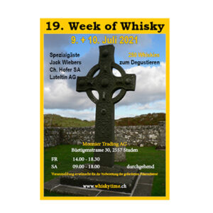Week of Whisky 2021 Monnier Studen 9. Juli 2021 10. Juli 2021, Event