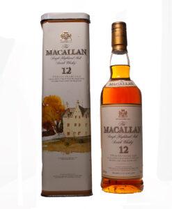 Macallan 12Y TinBox Original