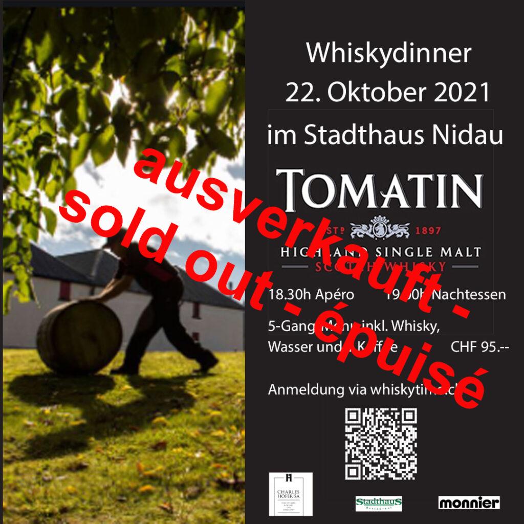 Whiskydinner 22-10-2021